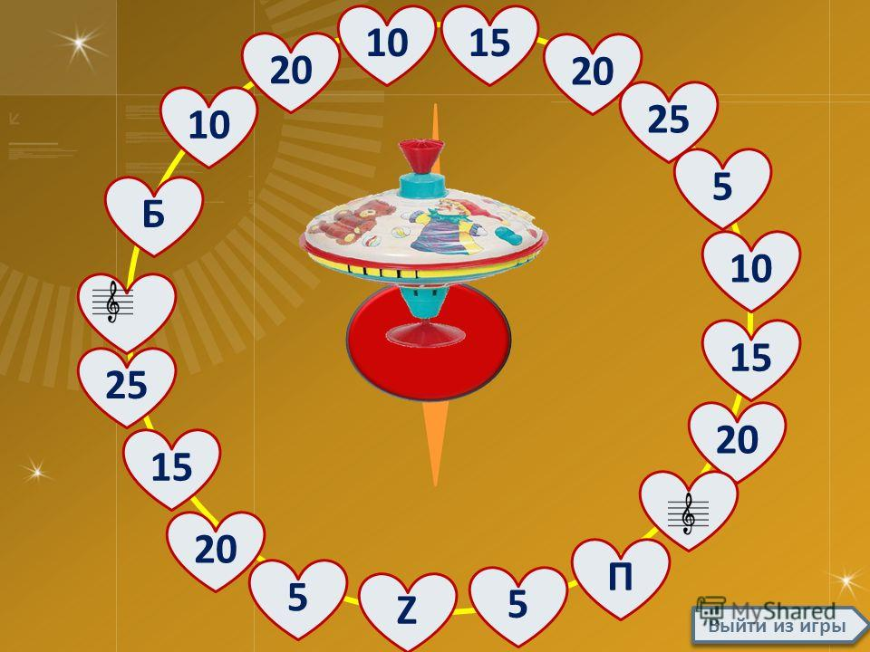 Правила игры С помощью стрелки выбирается вопрос, который имеет количество баллов за ответ. Значение секторов: Z – зеро, удваивается заработанная сумма баллов Б – блиц вопросы: 30 баллов за ответы на 3 вопроса по 20 секунд П – помощь клуба знатоков,
