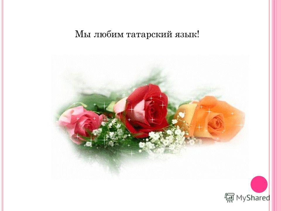 Мы любим татарский язык!