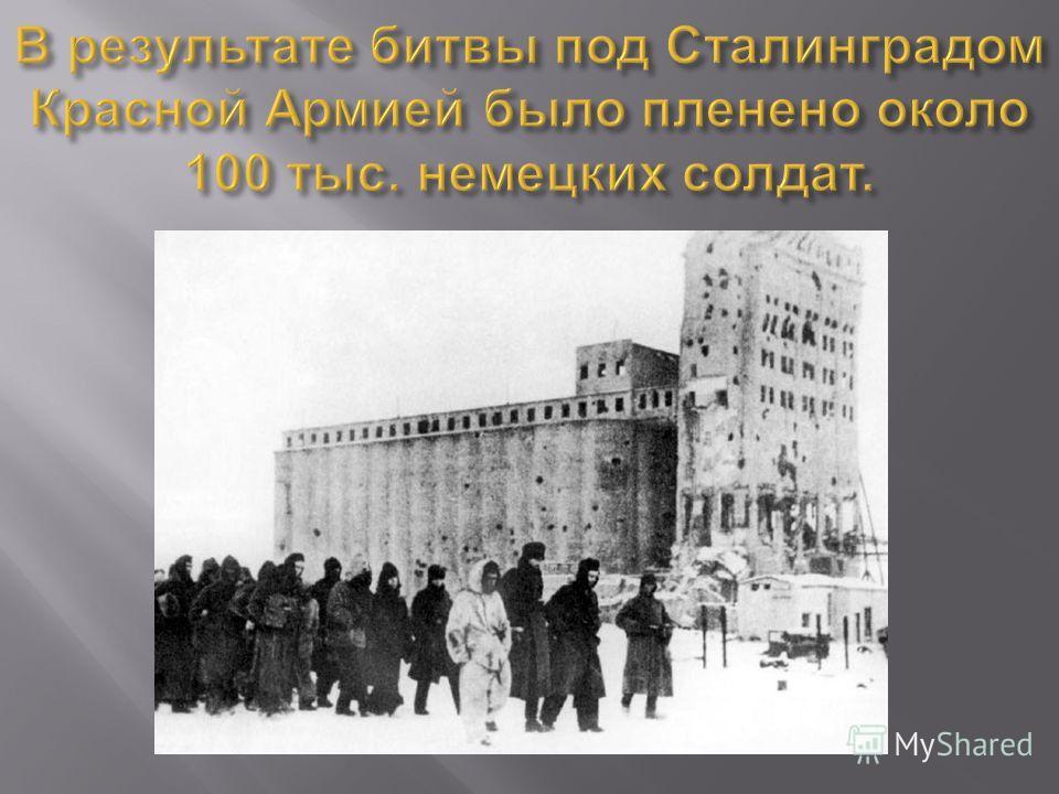 Контрнаступления Красной Армии под Сталинградом.