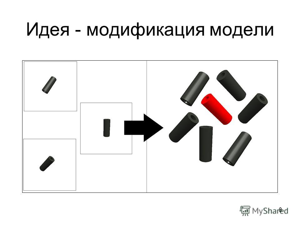 8 Идея - модификация модели