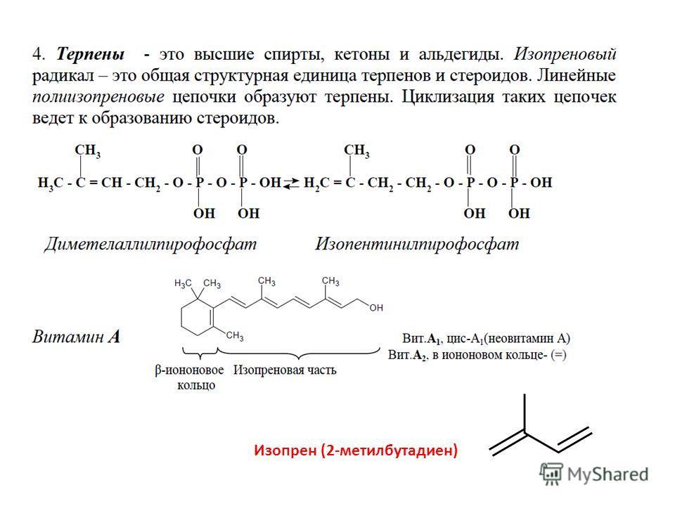 Изопрен (2-метилбутадиен)