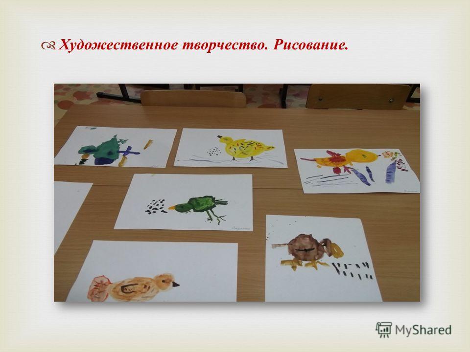 Художественное творчество. Рисование.