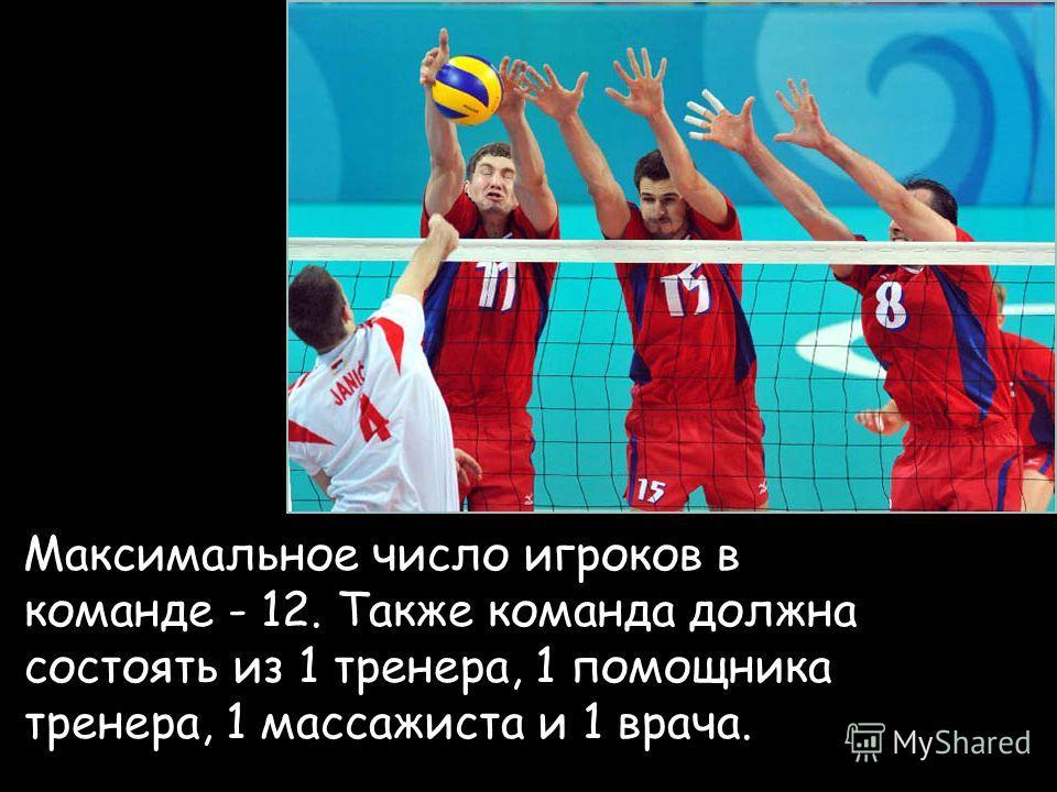 Правила игры в волейбол:
