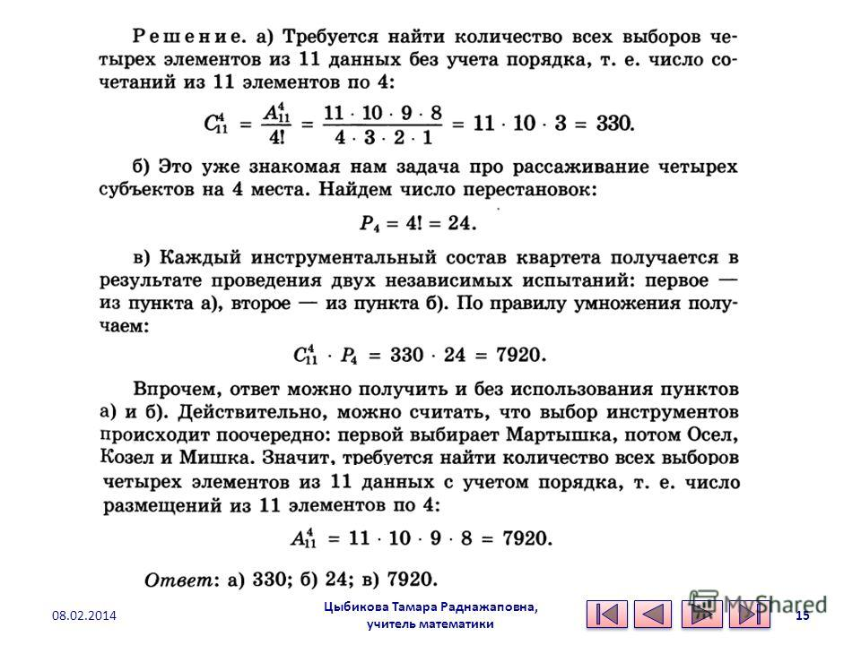 Цыбикова Тамара Раднажаповна, учитель математики 08.02.201415