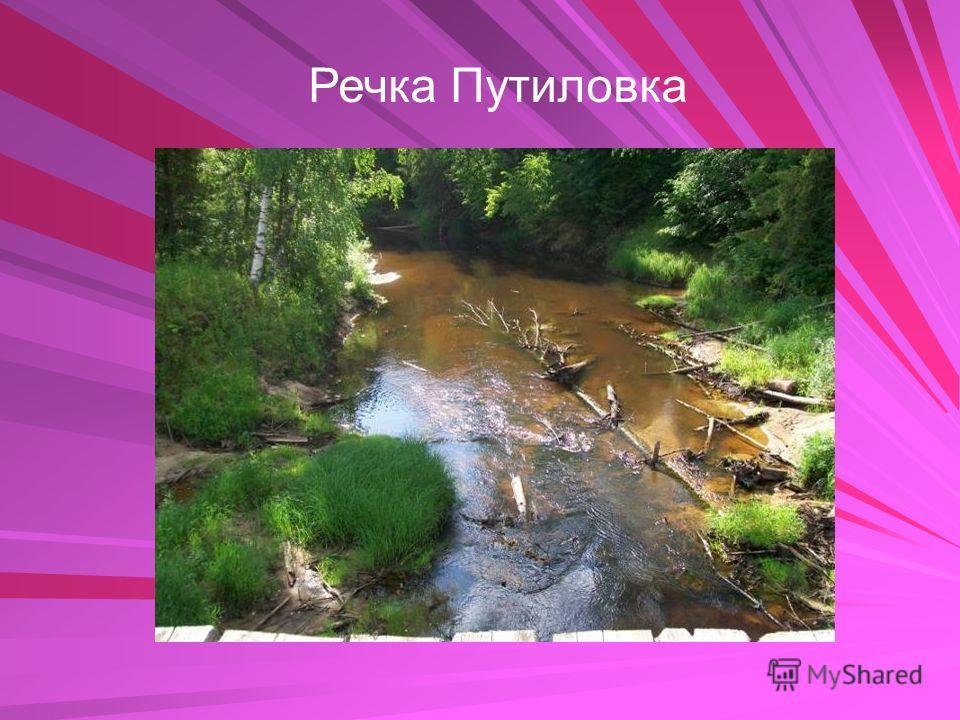 Речка Путиловка