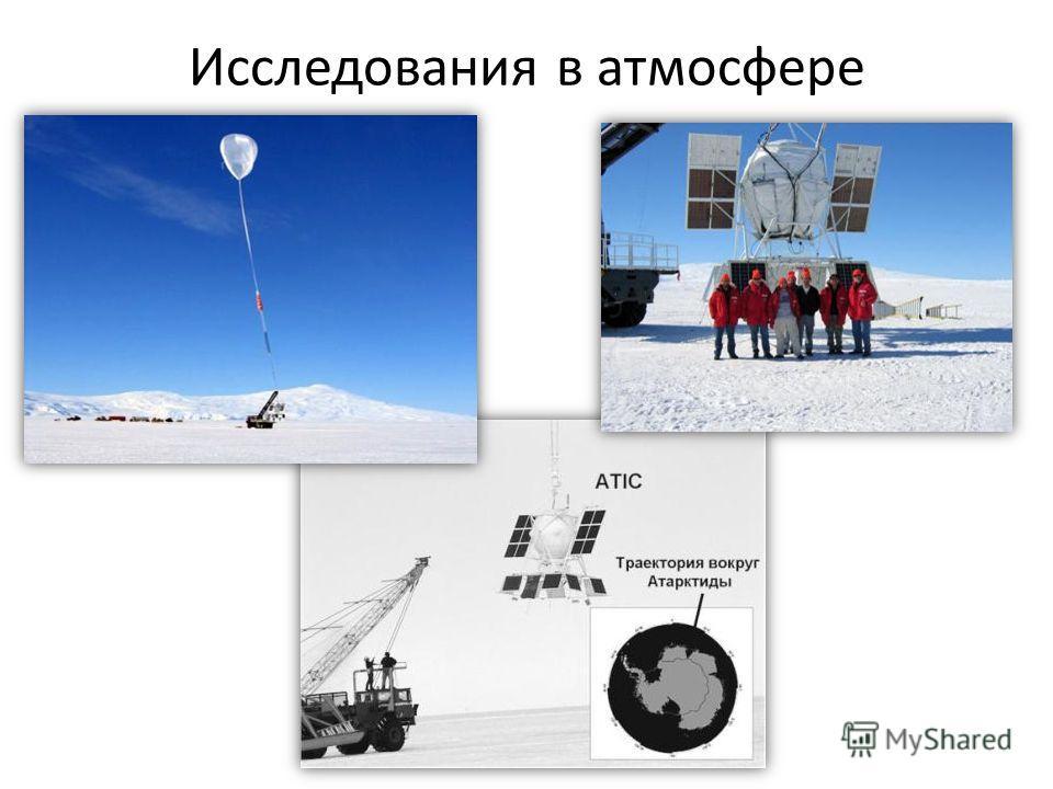 Исследования в атмосфере