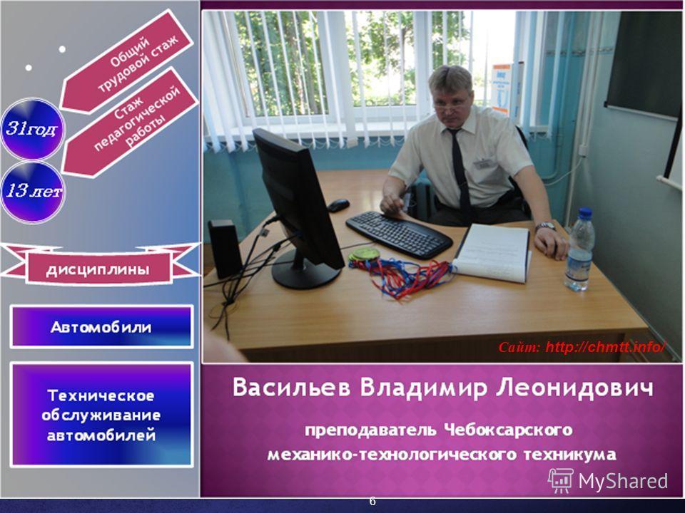 6 Сайт: http://chmtt.info/