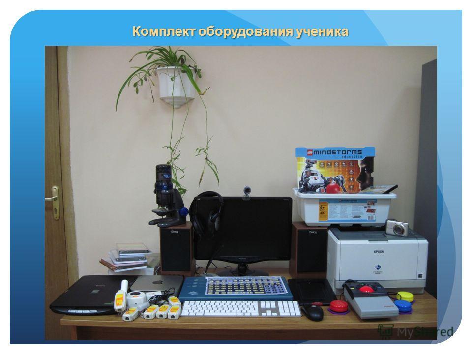 Комплект оборудования ученика