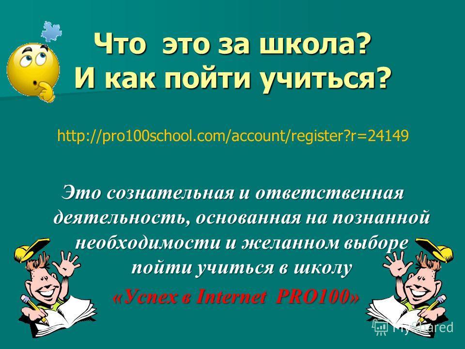 Школа «Успех в Internet PRO100 » Компьютер Интернет Skype Google Необходимое условие обучения