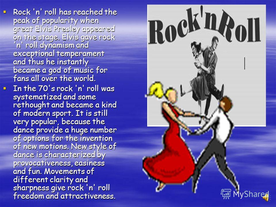 History Birthday of rock 'n' roll is April 12, 1954 - the day when film