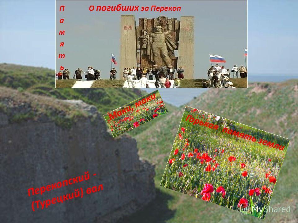 Город Армянск расположен в степной северной зоне Крыма. Имеет богатую и длительную историю, неразрывно связанную с уникальным земляным сооружением- Перекопским (Турецким) валом, Где происходили в 1941 году ожесточенные бои за подступы к Крыму.