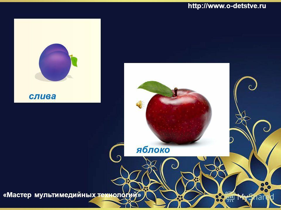 чёрная смородина облепиха http://www.o-detstve.ru «Мастер мультимедийных технологий»
