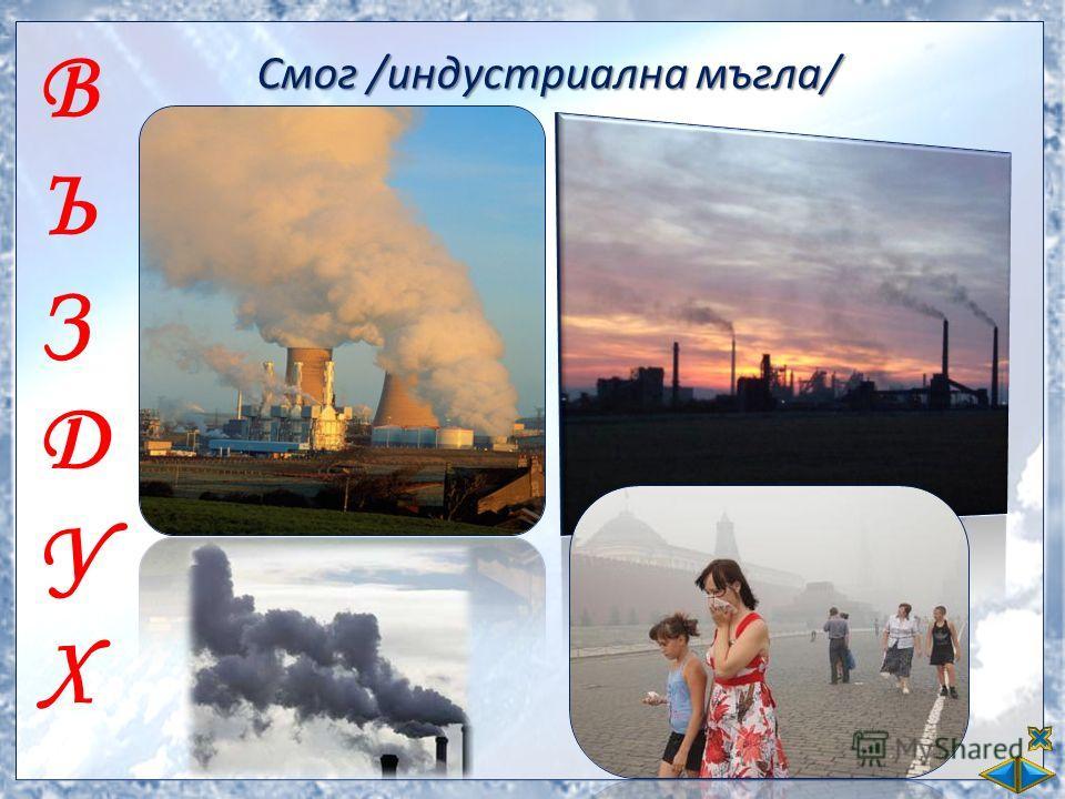 ВЪЗДУХВЪЗДУХ Смог /индустриална мъгла/