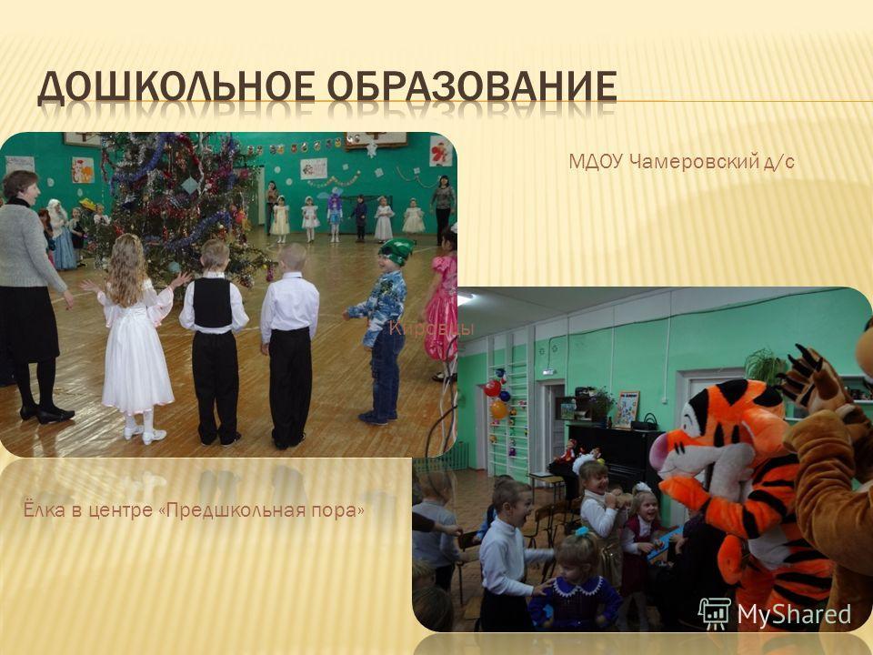 Кировцы Ёлка в центре «Предшкольная пора» МДОУ Чамеровский д/с