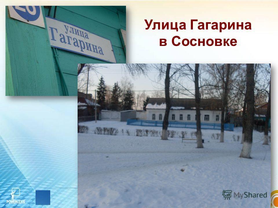 Улица Гагарина в Сосновке
