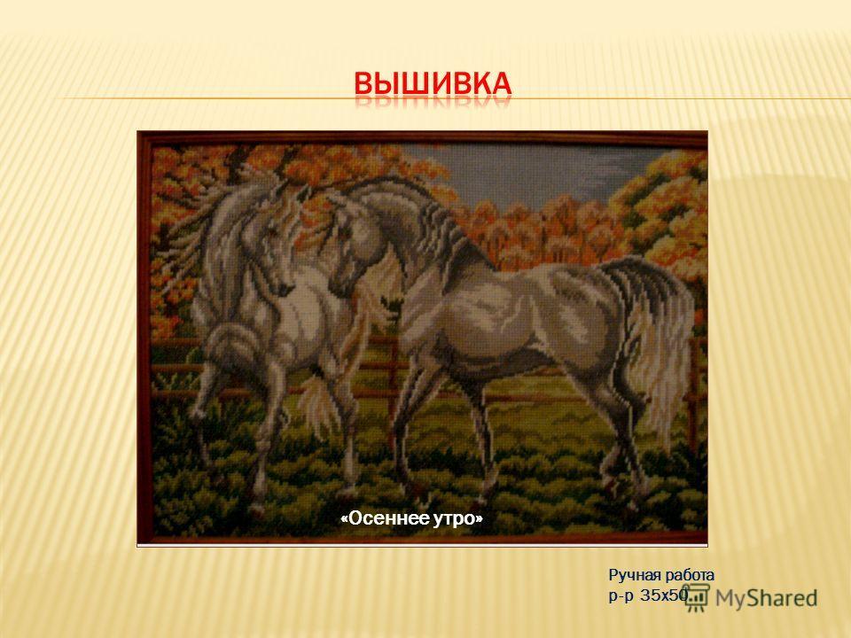 Преподобный Серафим Саровский Ручная работа р-р 40х50