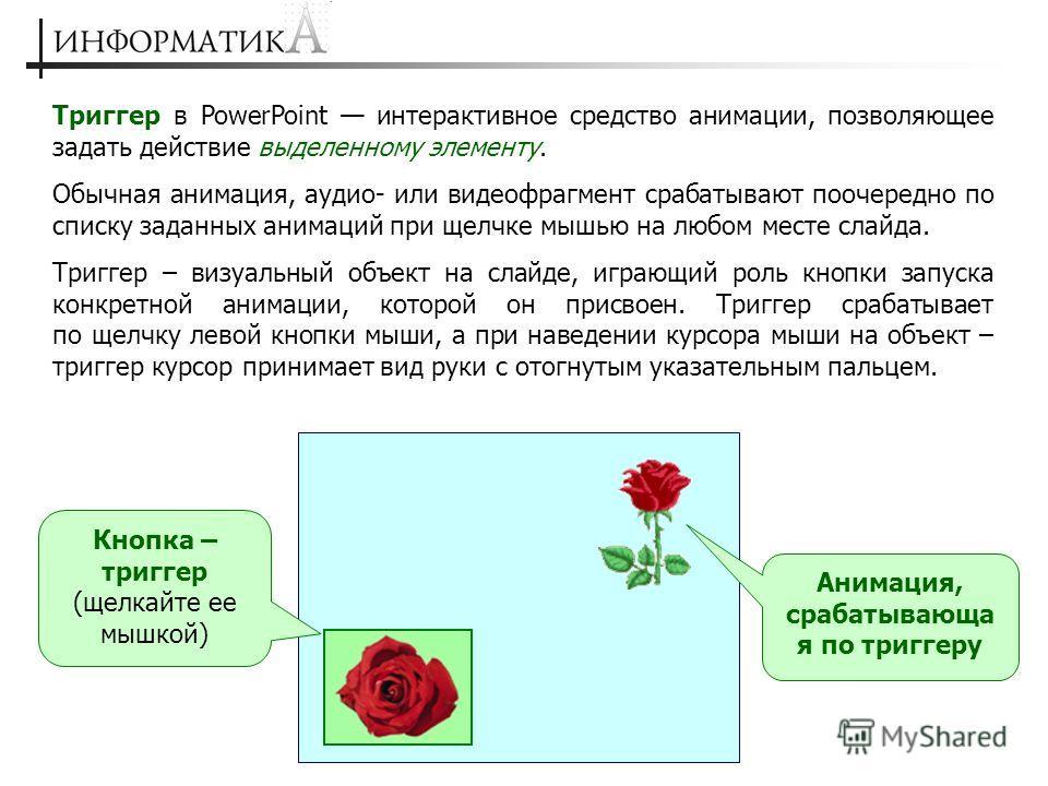 «Спусковой крючок» анимации А.И. Азевич, Москва