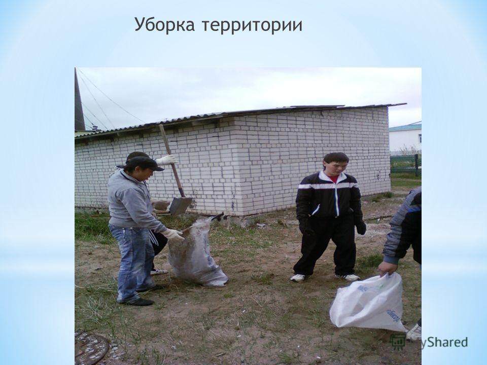Уборка территории