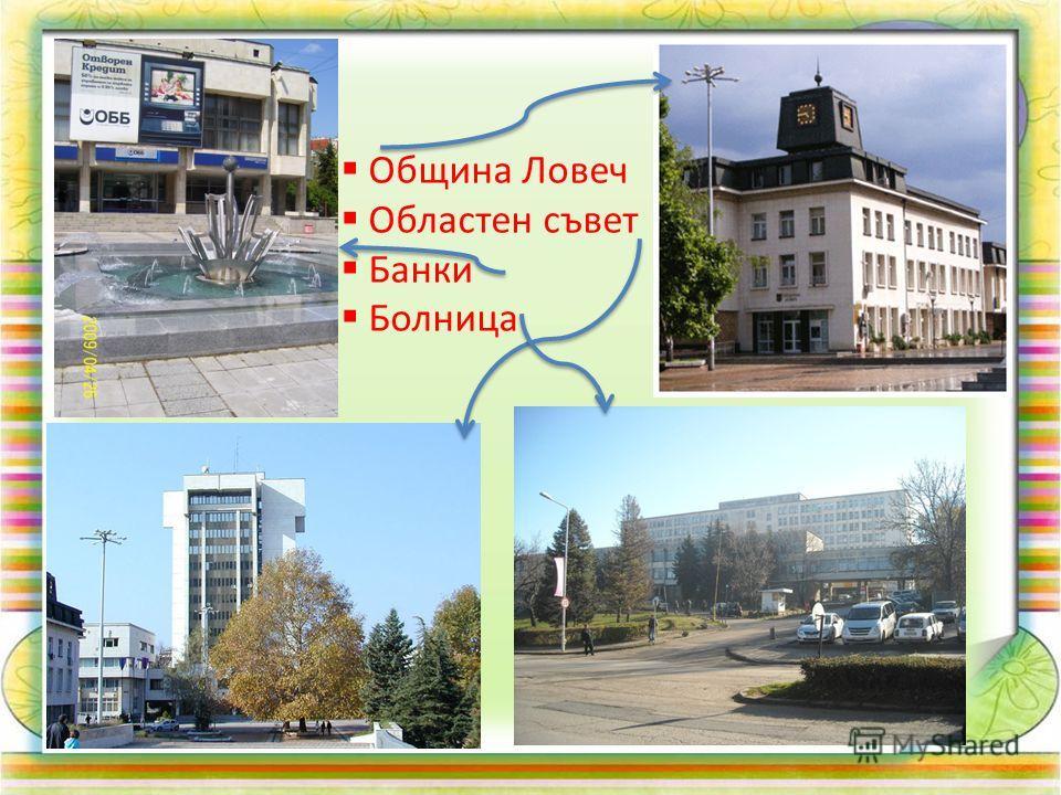 Община Ловеч Областен съвет Банки Болница