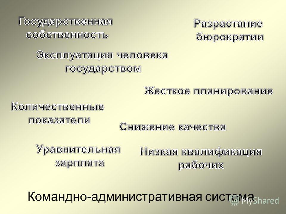 Командно-административная система