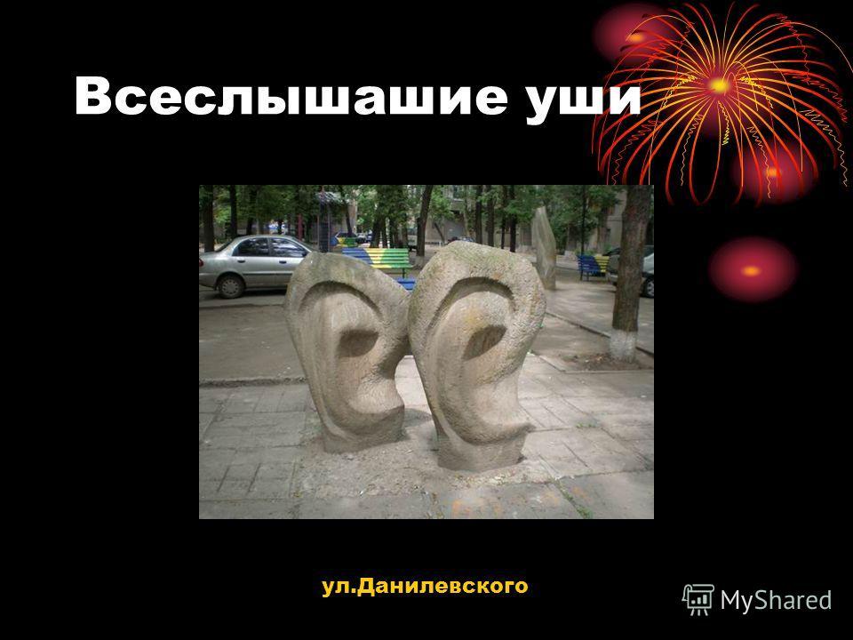 Всеслышашие уши ул.Данилевского