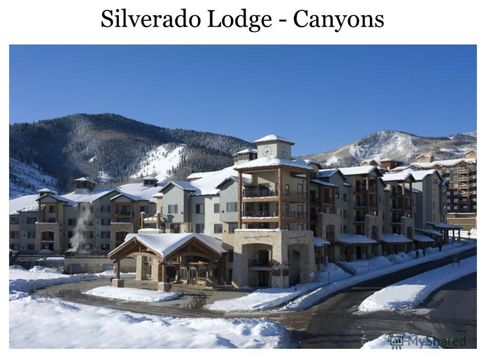 Silverado Lodge - Canyons