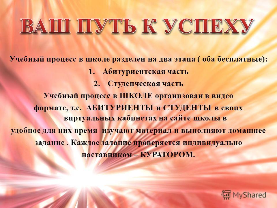 Школа Успех в Internet PRO100 От новичка – к профессионалу!