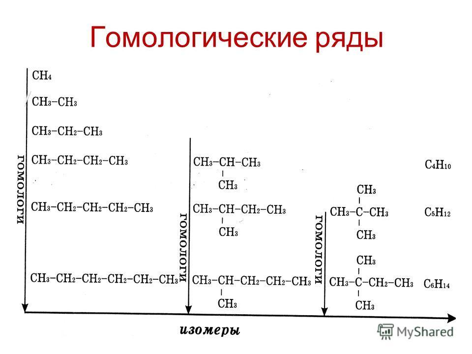 Гомологические ряды
