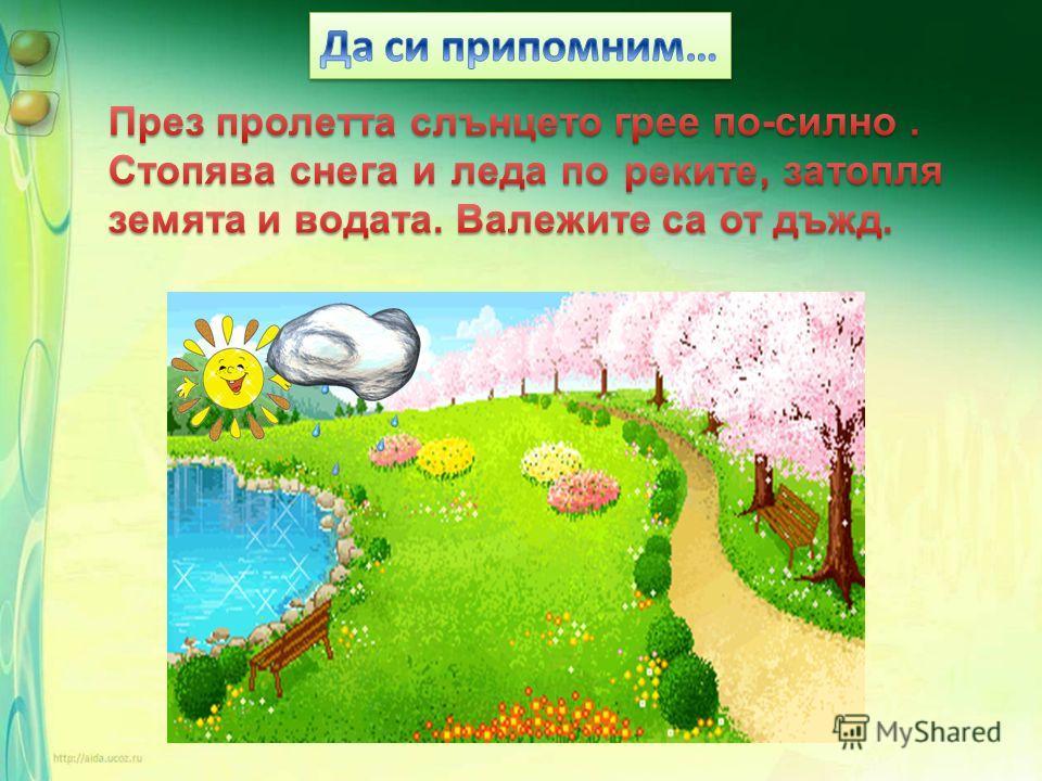 пролет лято есен зима