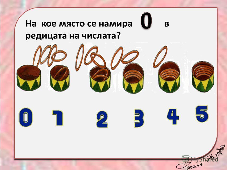 На кое място се намира в редицата на числата?