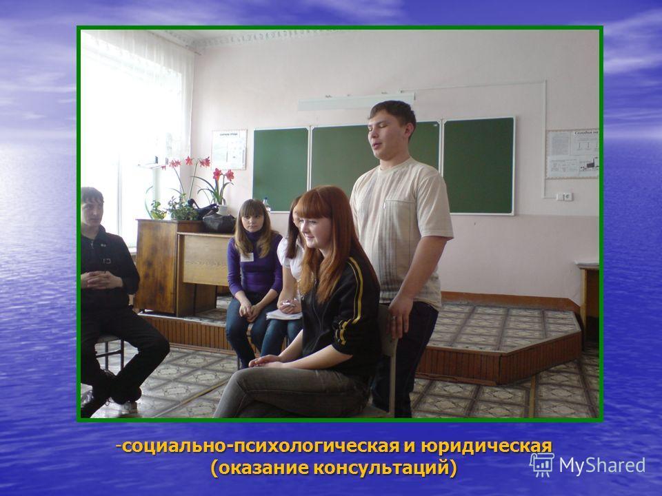 Направления деятельности - досуговая, творческая деятельность (организация свободного времени детей, подростков, молодежи, незащищенных слоев населения),