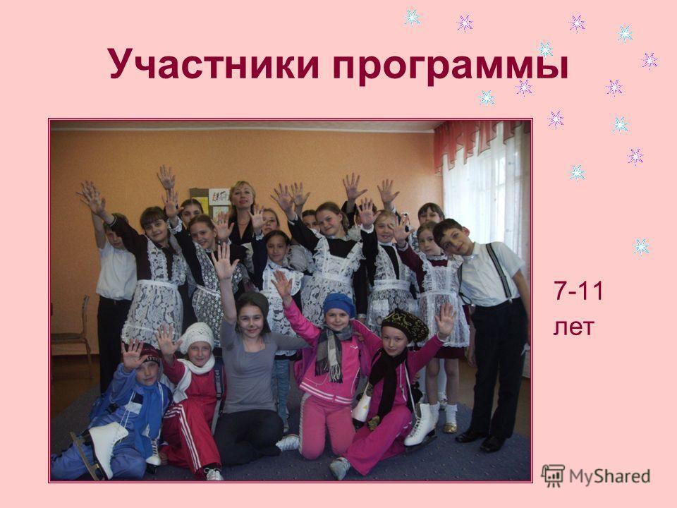 Участники программы 7-11 лет