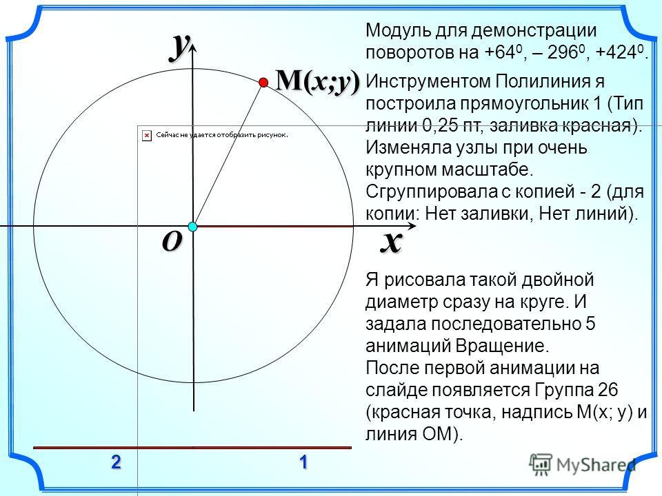 Инструментом Полилиния я построила прямоугольник 1 (Тип линии 0,25 пт, заливка красная). Изменяла узлы при очень крупном масштабе. Сгруппировала с копией - 2 (для копии: Нет заливки, Нет линий). Я рисовала такой двойной диаметр сразу на круге. И зада
