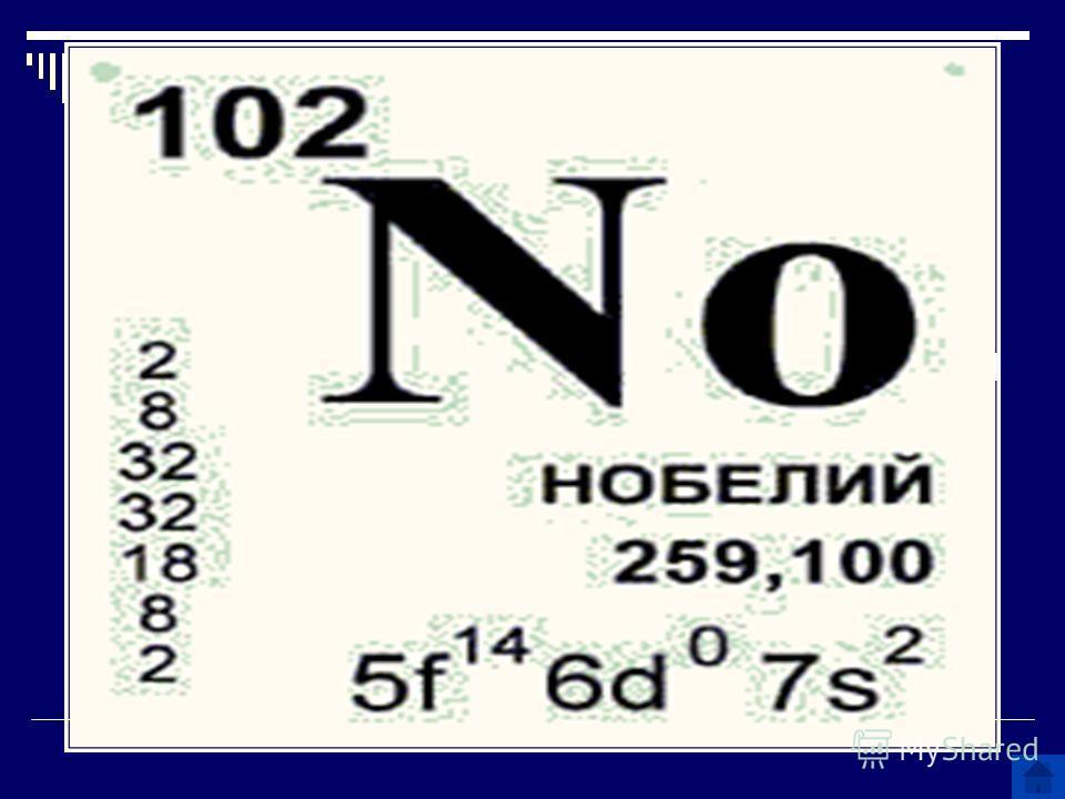 Этот человек изобрел динамит и учредил премию своего имени. Какой химический элемент назван именем этого ученого?