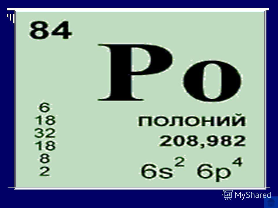 Имя этого химического элемента походит на имя одного из героев трагедии Шекспира «Гамлет», а на самом деле элемент назван в честь Польши. О каком химическом элементе идет речь?