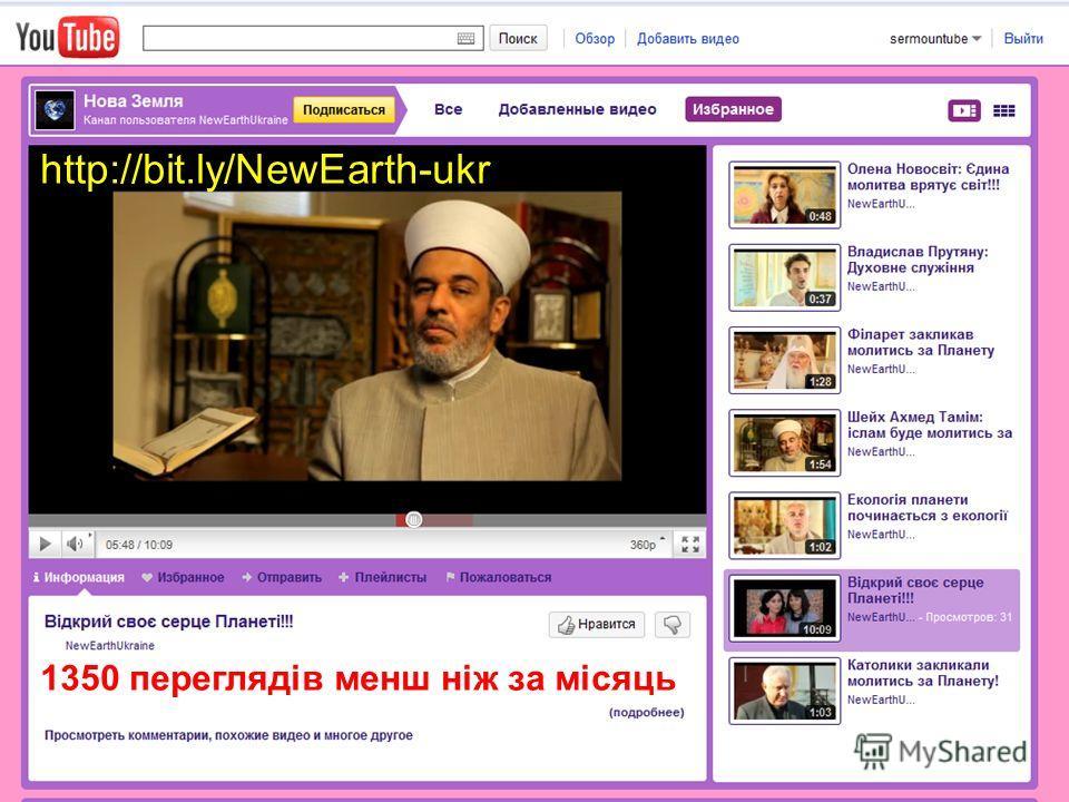 1350 переглядів менш ніж за місяць http://bit.ly/NewEarth-ukr
