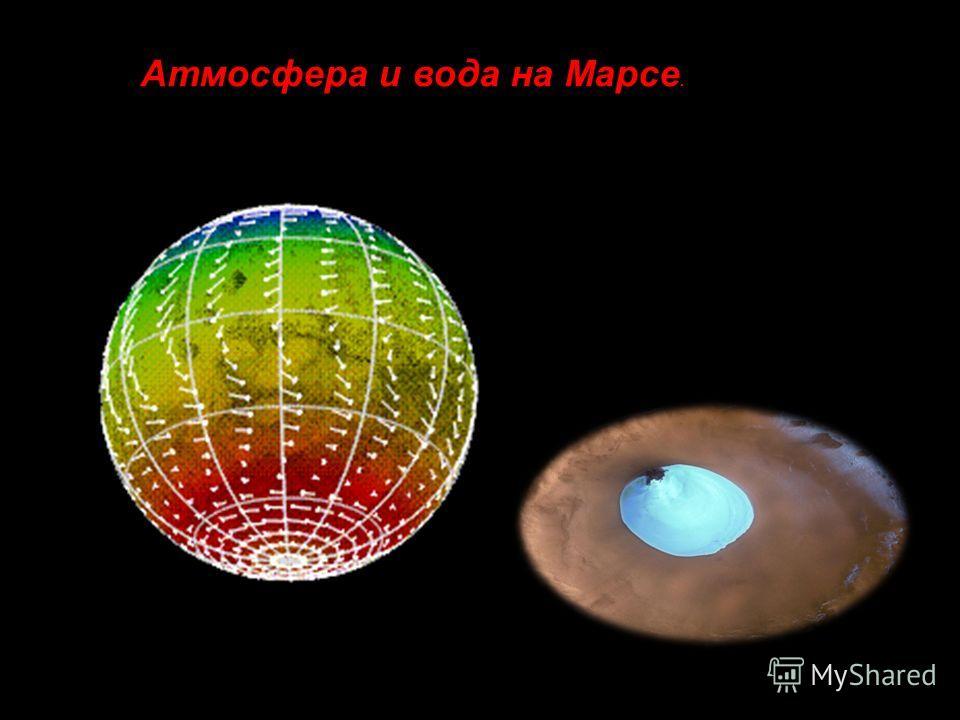 1.Атмосфера и вода на Марсе. Атмосфера и вода на Марсе.