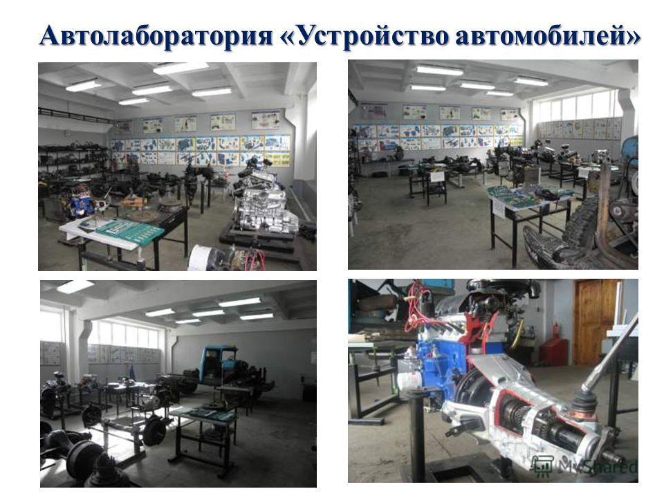 Автолаборатория «Устройство автомобилей»