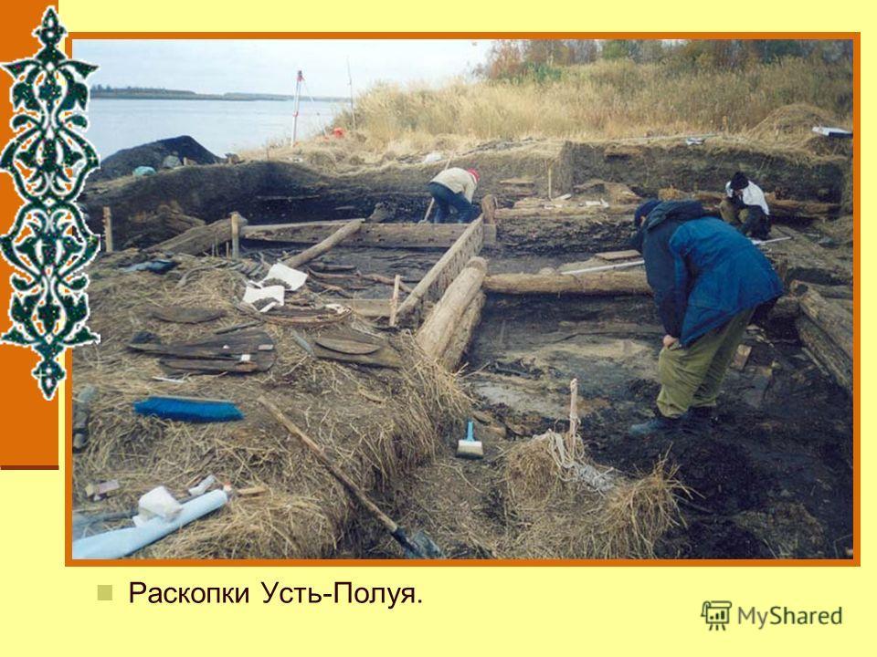 Раскопки Усть-Полуя.