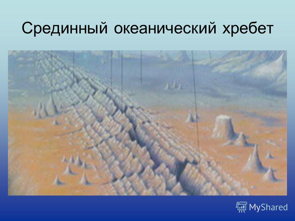 Срединный океанический хребет