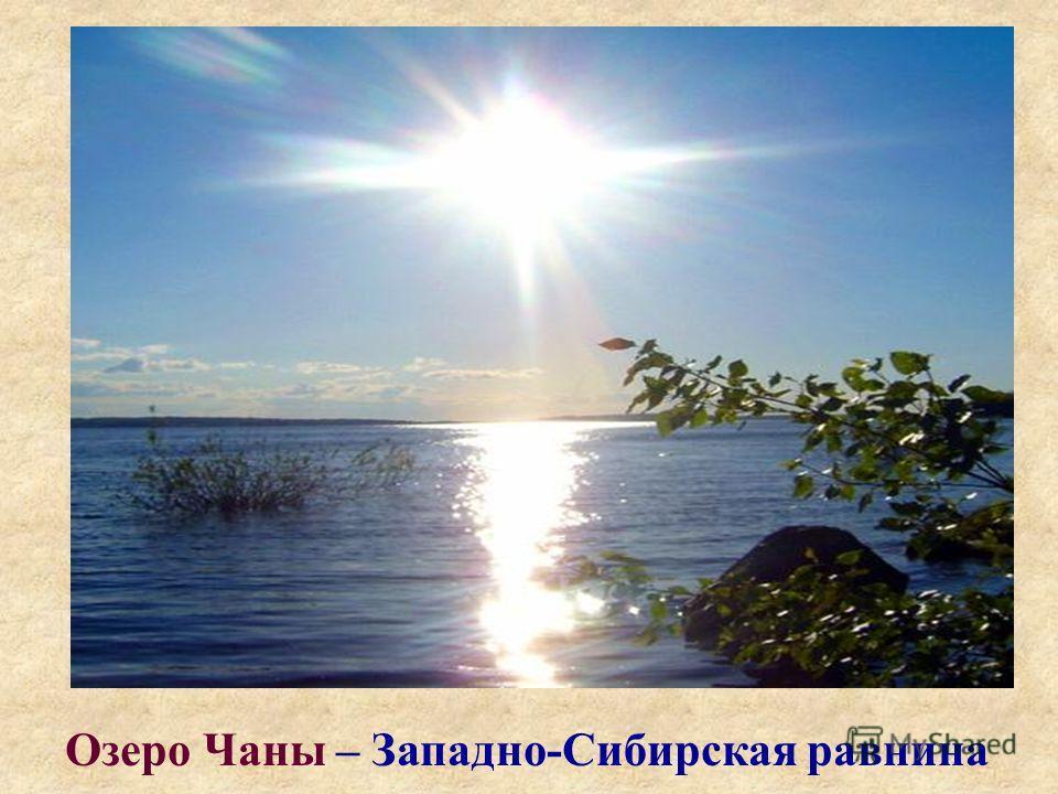 Озеро Чаны – Западно-Сибирская равнина