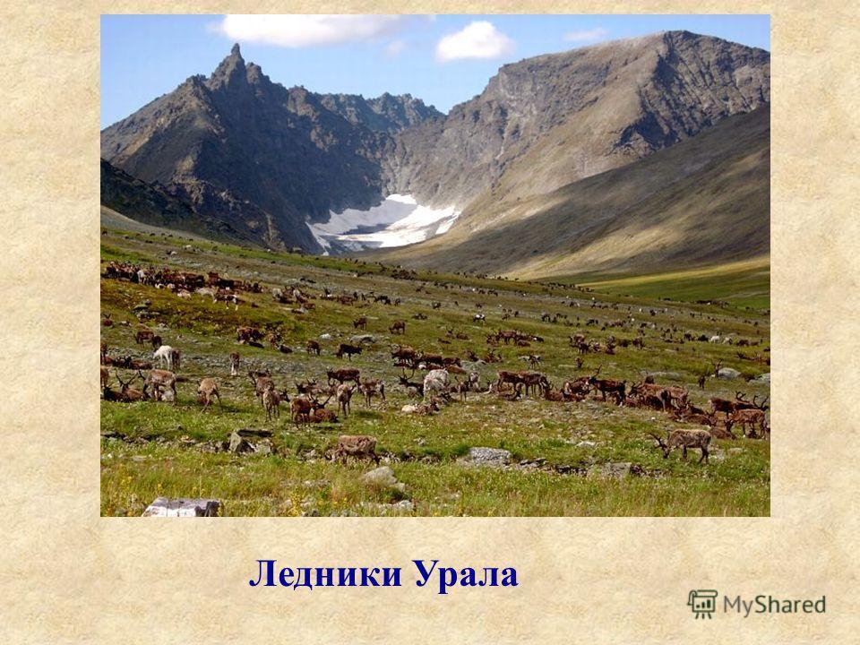 Ледники Урала