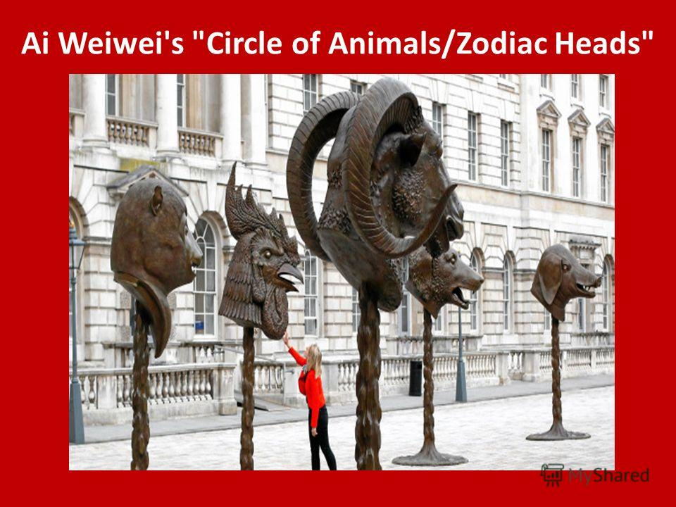 Ai Weiwei's Circle of Animals/Zodiac Heads
