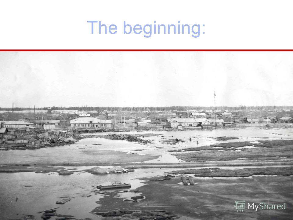 The beginning: