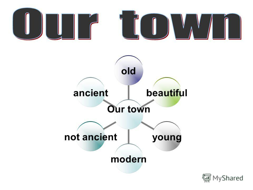 Our town oldbeautifulyoungmodern not ancient ancient