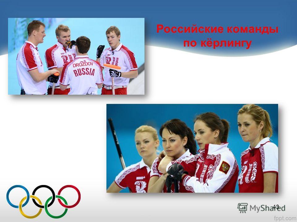 Российские команды по кёрлингу 43