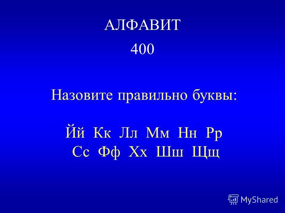 ТАБЛИЦА Буквы Ъ и Ь не обозначают звуков.