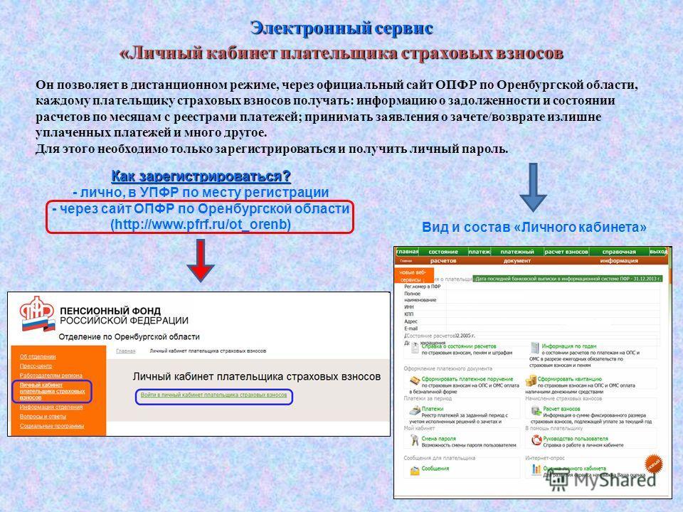 Пфр оренбургской области официальный сайт скачать программу