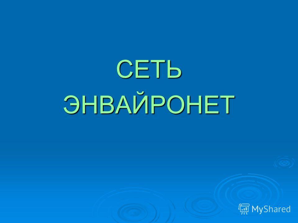 СЕТЬЭНВАЙРОНЕТ