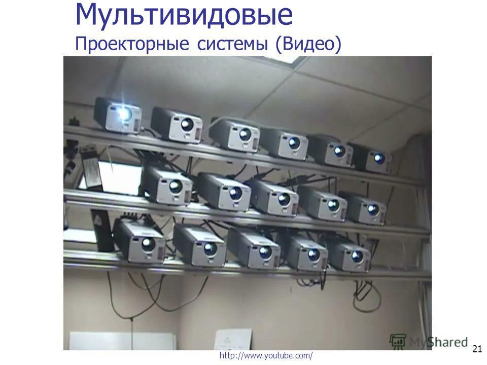 21 Мультивидовые Проекторные системы (Видео) http://www.youtube.com/